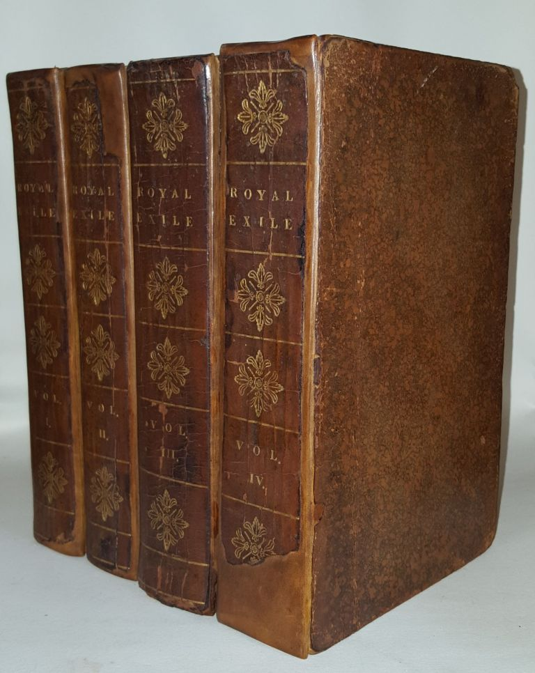 THE ROYAL EXILE Or Memoirs of the Public and Private Life of Queen Caroline Queen Consort of Great Britain in Two Volumes [&] Report of the Trial of Caroline [bound with] The Last Days of Caroline [&] Voyages and Travels of Caroline. ADOLPHUS I. H.