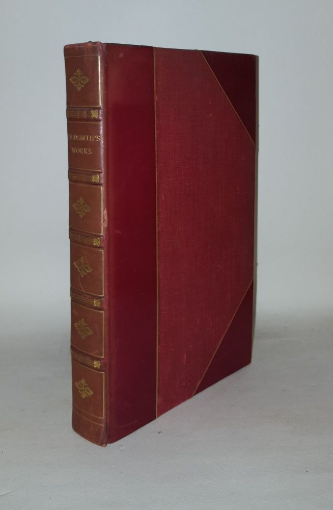 SELECT WORKS OF OLIVER GOLDSMITH Comprising the Vicar of Wakefield Plays and Poems. GOLDSMITH Oliver.