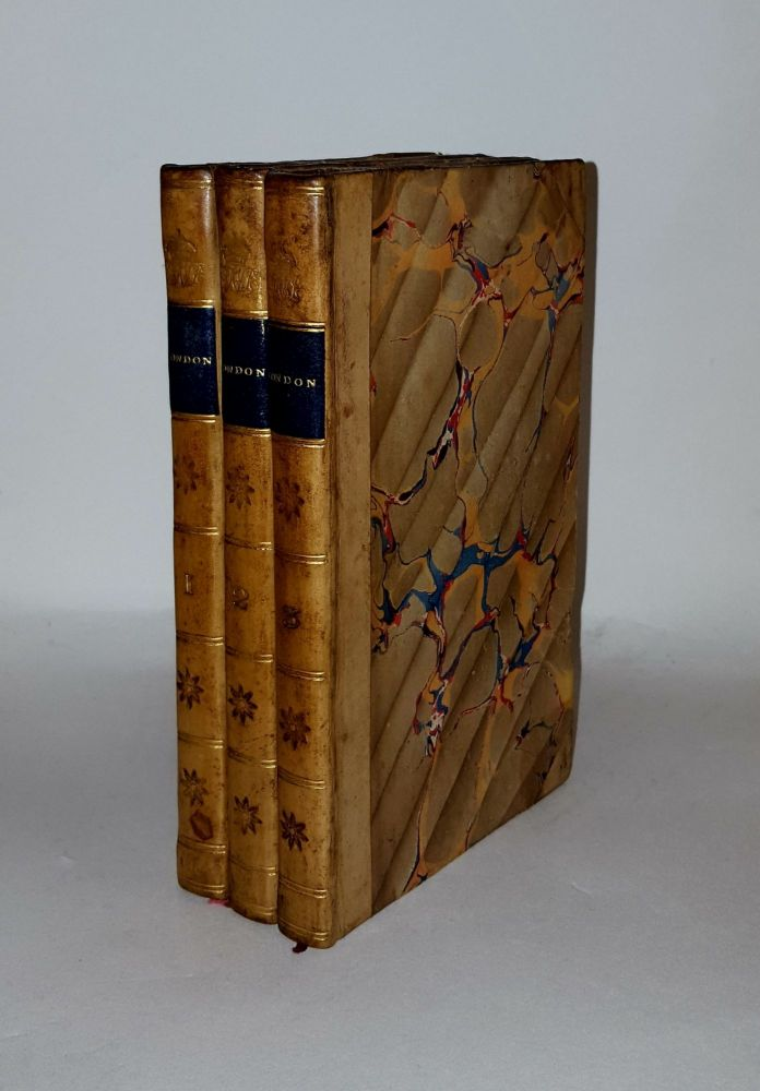 LONDON Or a Month at Stevens's by a Late Resident a Satirical Novel in Three Volumes. BROWN Thomas the Elder, pseud.