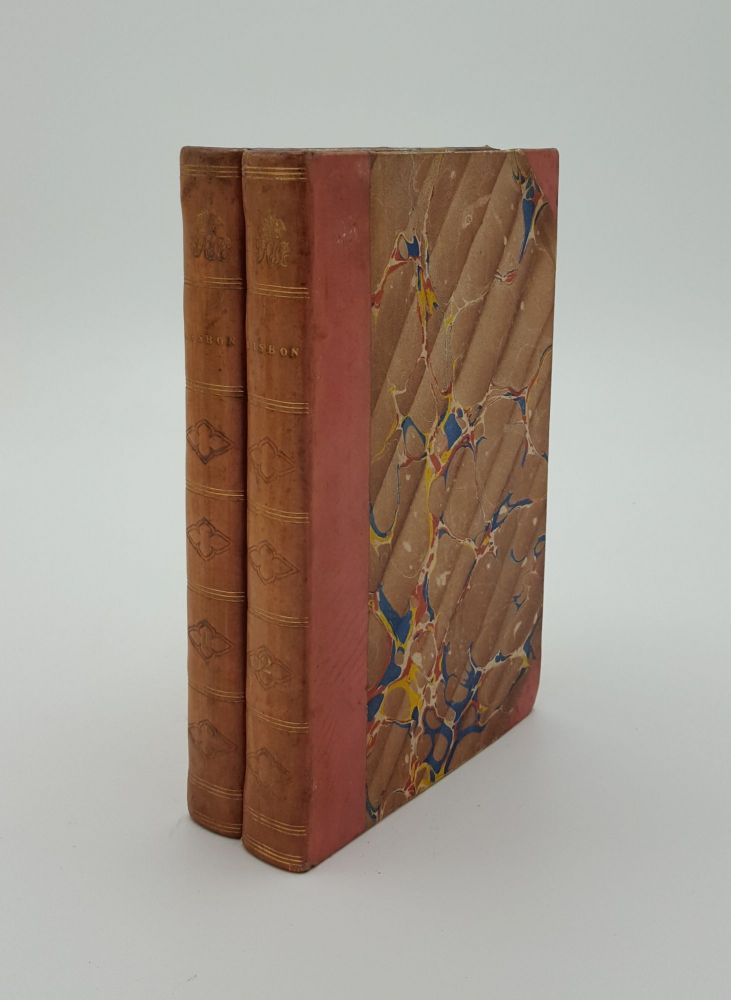 LISBON IN THE YEARS 1821 1822 and 1823 in Two Volumes. BAILLIE Marianne.