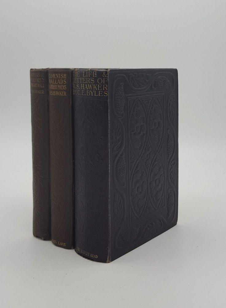 R.S. HAWKER 3 Volumes Footprints of Former Men in Far Cornwall, Cornish Ballads & Other Poems, The Life and Letters of R.S. Hawker. BYLES C. E. HAWKER R. S.