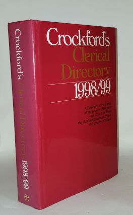 CROCKFORD'S Clerical Directory 1998-99. Anon