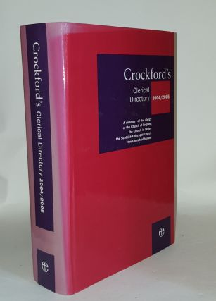 CROCKFORD'S Clerical Directory 2004-2005. Anon
