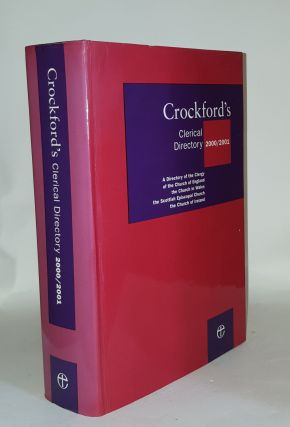 CROCKFORD'S Clerical Directory 2000-2001. Anon