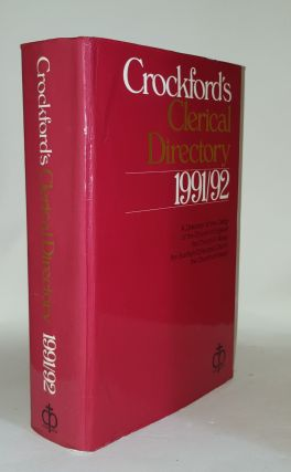 CROCKFORD'S Clerical Directory 1991-92. Anon