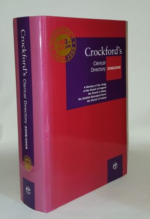 CROCKFORD'S Clerical Directory 2008-2009. Anon