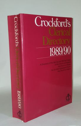 CROCKFORD'S Clerical Directory 1989-90. Anon