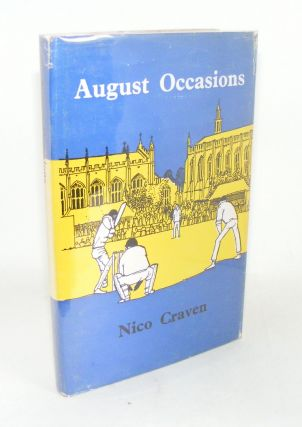 AUGUST OCCASIONS. CRAVEN Nico