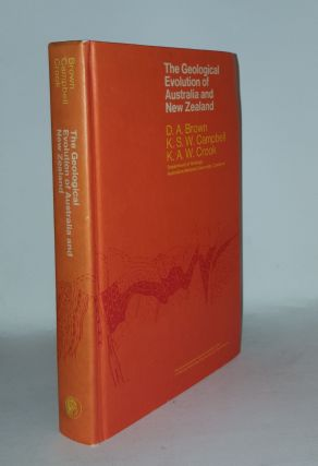THE GEOLOGICAL EVOLUTION OF AUSTRALIA AND NEW ZEALAND. CAMPBELL K. S. W. BROWN D. A