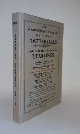 NEWMARKET HOUGHTON YEARLING SALES To Be Sold By Auction By Tattersalls ... Tuesday October 16th -...
