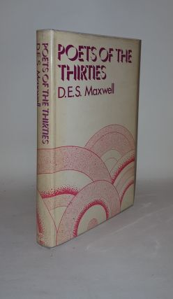 POETS OF THE THIRTIES. MAXWELL D. E. S.