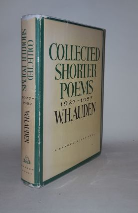 COLLECTED SHORTER POEMS 1927-1957. AUDEN W. H