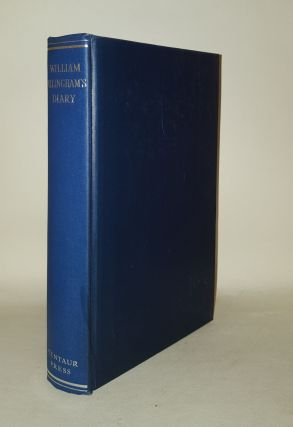 WILLIAM ALLINGHAM'S DIARY. GRIGSON Geoffrey ALLINGHAM WIlliam