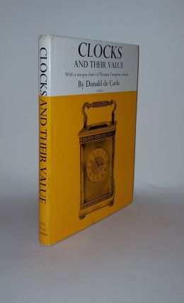 CLOCKS AND THEIR VALUE. CARLE Donald de