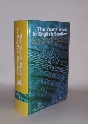 THE YEAR'S WORK IN ENGLISH STUDIES Volume 86 Covering Work Published in 2005. WOMACK Kenneth...
