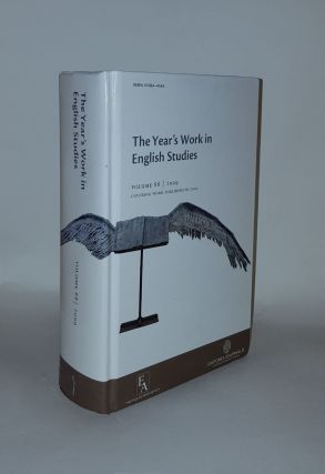 THE YEAR'S WORK IN ENGLISH STUDIES Volume 88 Covering Work Published in 2009. WOMACK Kenneth...