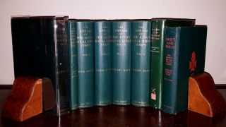 THE ANNALS OF THE KING'S ROYAL RIFLE CORPS Seven Volumes + SWIFT AND BOLD. MILNE S. M. BUTLER...