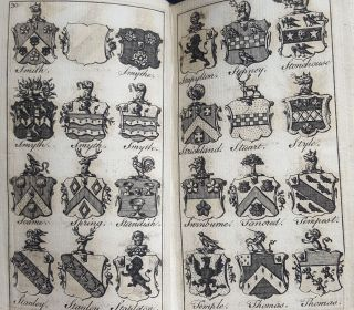 A NEW BARONETAGE OF ENGLAND Or a Genealogical and Historical Account of the Present English Baronets... in Three Volumes