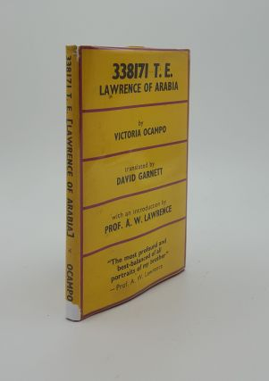 338171 T.E. Lawrence of Arabia. GARNETT David OCAMPO Victoria
