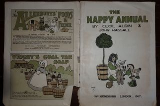 THE HAPPY ANNUAL. HASSALL John ALDIN Cecil