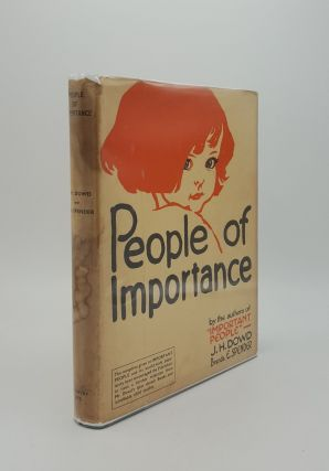 PEOPLE OF IMPORTANCE. SPENDER Brenda E. DOWD J. H