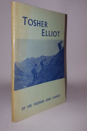 TOSHER ELLIOT Lt Col Walter Robert Elliot MC. Anon
