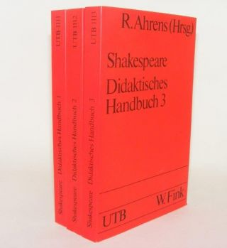 WILLIAM SHAKESPEARE Didaktisches Handbuch 1 2 & 3. AHRENS Rüdiger