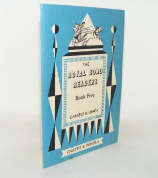 ROYAL ROAD READERS Book Five. DIACK Hunter DANIELS J. C