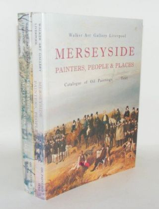MERSEYSIDE Painters People & Places Catalogue of Oil Paintings Text [&] Plates. BENNETT Mary