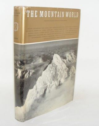 THE MOUNTAIN WORLD 1964 - 65. BARNES Malcolm
